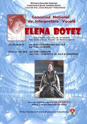 "Concurs ""Elena Botez"""